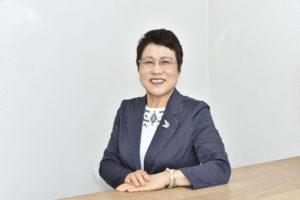 太田せつ子、笑顔、